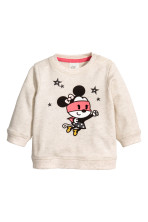 Light beige/Minnie Mouse